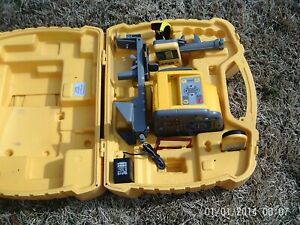 Spectra Precision Hv401 Rotating Laser Many Accessories Great Shape German Mfr