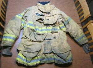 Lion Janesville Firefighter Fireman Turnout Gear Jacket Size 42 32 s c l1