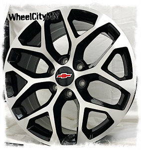 20 X9 Gloss Black Machine Chevy Silverado Tahoe Snowflake Oe Replica Rims 6x5 5