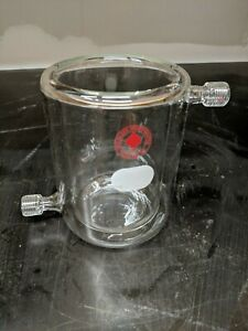 Ace Glass 400ml Jacketed Reaction Beaker 7 Safe Connectors