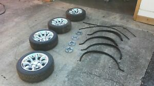 Original Classic Mini Cooper Clubman Wheels 12 Fender Flare W Spacers