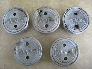 1927 31 Whippet Threaded Hub Caps Aluminum Grease Hub Nut Set Of 5 Hubcaps
