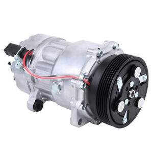 Ac A C Compressor Fit For Audi Volkswagen Models Oem 77554 4717025 1j0820805