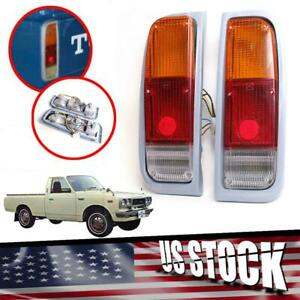 Tail Lights Rear Lamp Pair Fit Toyota Pickup Hilux Rn20 Rn25 1974 75 76 77 78