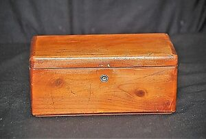 Old Vintage Lane Cedar Chest Salesman Sample Altavista Va Wooden Furniture Mcm A