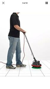 Oreck Orbiter Xl 12 floor Machine 3 4 Hp polisher buffer orb550mc w Brush Pads