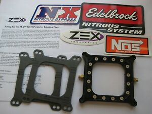 New Hbr Nos Nx Zex Holley 4150 Pro Competition Perimeter Nitrous Plate 50 375hp