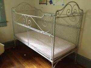 19th Century German Wrought Iron Children S Bed