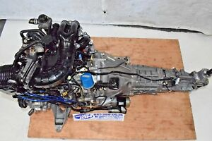 Jdm Mazda Rx8 Renesis 6 Port 13b 1 3l Rotary Engine 6 Spd Trans Wire Harness Ecu