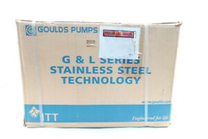 Goulds 1st4c1e4 Centrifugal Pump G l Series 4 44in 1 2hp 220v ac 50hz