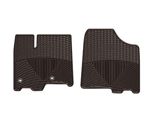 Weathertech All weather Floor Mats For 2013 2019 Toyota Sienna 1st Row In Cocoa