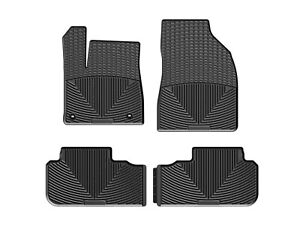 Weathertech All Weather Floor Mats For Toyota Highlander 14 19 1st 2nd Row Black