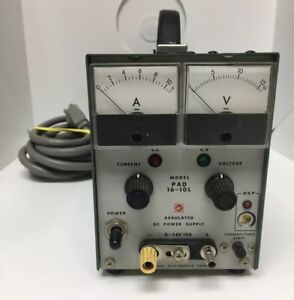 Kikusui Electronics Pad 16 10l Regulated Dc Power Supply Bench Tester