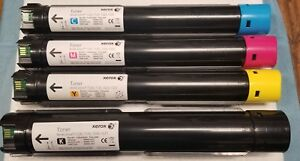 New Xerox Workcentre 7120 7125 7220 7225 Toner Set 6r01457 58 59 60