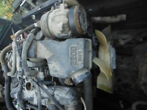 2001 03 Chevy S10 2 2 2200 4 Cylinder Engine No Core Will Ship