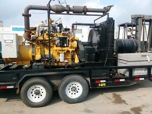 Caterpillar G3406ta Natural Gas Generator Set 200 Kw Continuous 480v 60 Hz