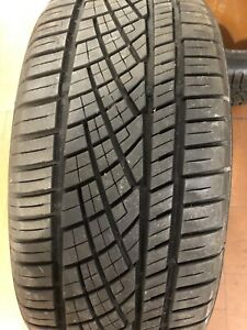2 225 40 18 92y Continental Extreme Contact Tires No Repair