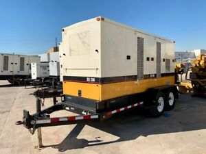 Caterpillar Xq230 Portable Diesel Generator Set 230 Kw Standby Tier 2 Engine