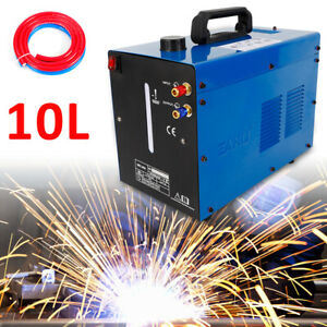 Wrc 300a Powercool 110v 10l Tig Welder Torch Water Cooler Cooling System Blue Us