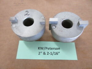 2 Used Kwik way peterson Valve Seat Cutters 2 0 2 1 16