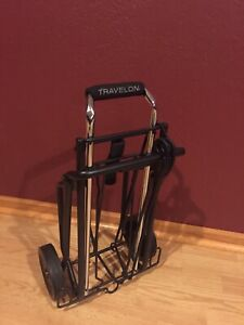 Travelon Portable Folding Dolly Cart For Luggage Heavy Duty