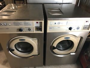 2 Commercial Washers By Wascomat
