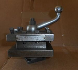 Enco 4 way Lathe Turret Tool Post Holder 4 1 2 S Square 3 4 Tool Shank