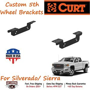 16411 Curt Custom 5th Fifth Wheel Hitch Bracket Kit Fits Silverado Sierra