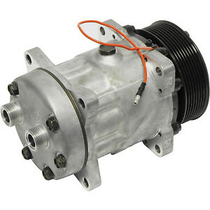 New 7822 4672 Sanden Style Sd7h15 Compressor W 8 Groove Clutch