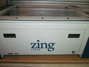 Epilog Zing 24 24 x12 40w Laser Engraver Includes Air Assist And Vent Fan