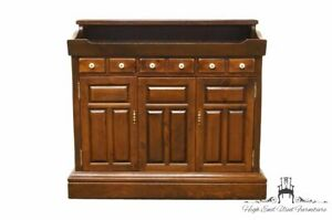 Ethan Allen Antiqued Pine Old Tavern 42 Dry Sink Console Cabinet 6220