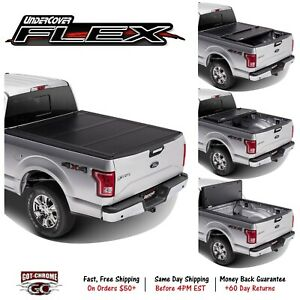 Fx31001 Undercover Flex Tri Fold Tonneau Cover Dodge Dakota 6 6 Bed 1997 2011