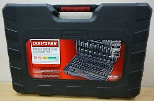 Craftsman 78 Piece Impact Socket And Accessory Set 41933 Brand New