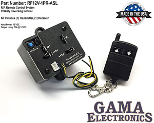 Gama Electronics Rf Remote Control Reverse Polarity 12vdc Motor Control With