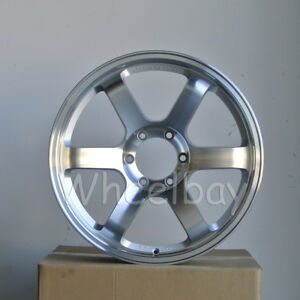 4 Rota Wheel Grid 20x8 5 6x139 7 10 110 Full Polish Silver No Caps Last Set
