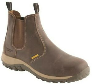Brown Safety Dealer Boot Size 8 Radial 8