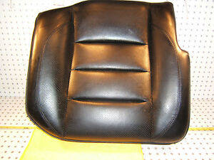 Mercedes W124 500e Sportline Recaro Rear R Pass Leather Black Seat Lower 1 Seat