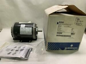 Emerson Sa55nxsfc 4867 Cat 8200 Belted Fan Blower Motor 1 2hp 1725rpm