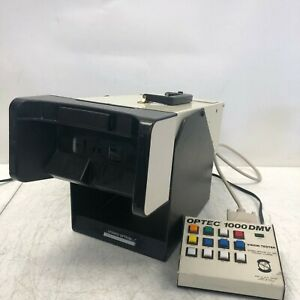 Optec 1000 Dmv Stereo Optical Vision Tester Fully Tested Working No Slides