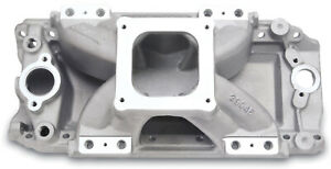 Edelbrock 29045 Victor Jr 454 o Efi Intake Manifold Non egr Up To 7500rpm Oval