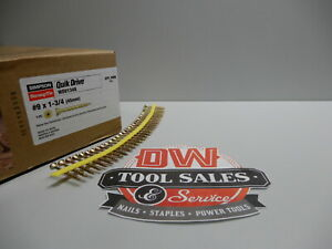 Quick Drive 9 X 1 3 4 Inch Sub Floor Screws Strong Drive Collated 2 000