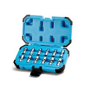 Capri Tools 1 4 In Drive Universal Socket Set 5 15 Mm Metric 12 Piece