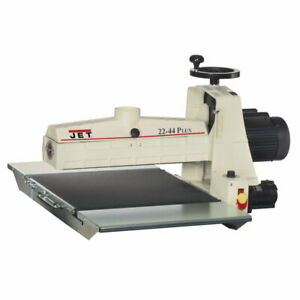 Jet 649003k 22 44 Plus Bench Top Drum Sander 20 Amp Service 1 3 4hp 115v