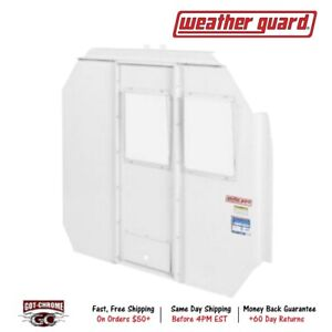 96301 3 01d Weather Guard Bulkhead Divider With Polycarbonate Window White