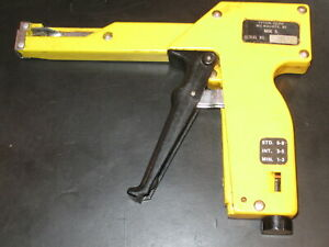 Tyton Corp Mk 5 Cable Tie Gun Zip Tie Tool Adjustable Tension hellerman Tyton