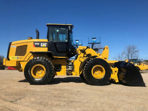 2014 Caterpillar 924k Articulated Wheel Loader Diesel Ac Rubber Tire Cat Tractor