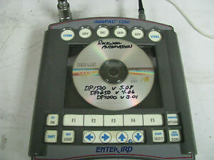Entek Ird Datapac 1250 Machinery Health Vibration Analyzer Fi39