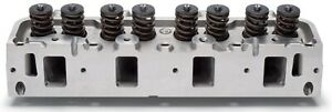 Edelbrock 60069 Performer Rpm Fe Cylinder Head Chamber Size 72cc Complete Single