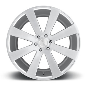 Dub 8 Ball S213 Wheel 22x9 5 Silver Brushed 6x5 5 30mm S213229577 30
