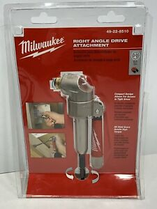 Milwaukee 49 22 8510 Right Angle Drill Attachment New